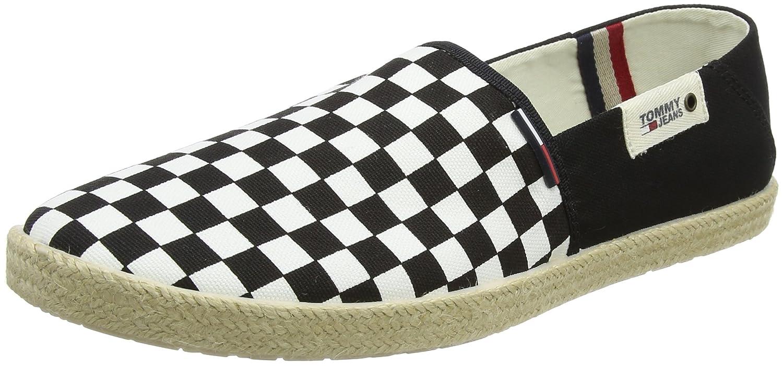 Tommy Jeans Check Slip On Shoe, Mocasines para Hombre
