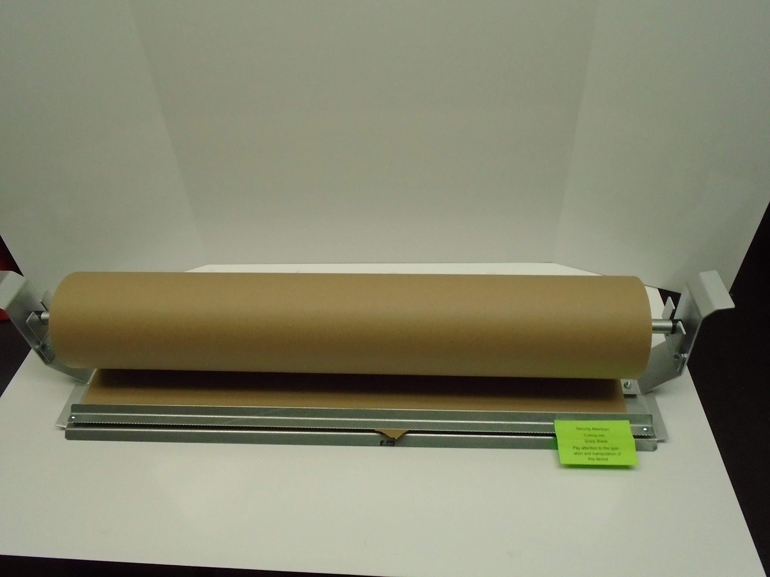Paper Cutter Roll Dispenser Econoline 36 inches table mount Kraft paper Duralov