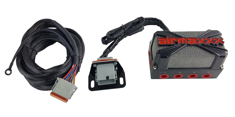 Airmaxxx X4 Air Ride Suspension Solenoid Valve Manifold Bag Wire Harness Wiring Automotive