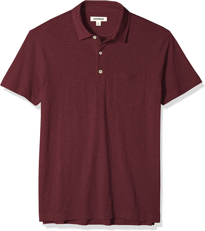 Brand Goodthreads Mens Lightweight Slub T-Shirt Hoodie