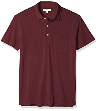 5b5261be7 Amazon.com  Amazon Brand - Goodthreads Men s Lightweight Slub Polo ...