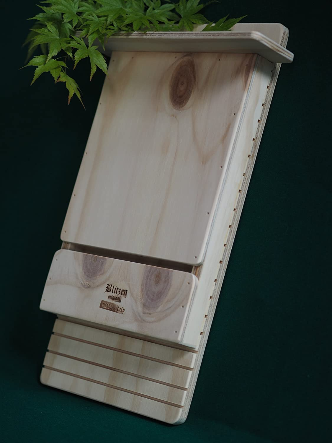 WALL BAT BOX AGAINST MOSQUITOS Professional Blitzen made in Italy 100%