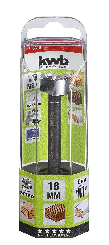 s Taladro, Centering drill bit, 2,2 cm, Madera noble, MDF, Madera blanda, Ampolla, 1 pieza - Brocas s kwb 706322 broca Centering drill bit 1 pieza
