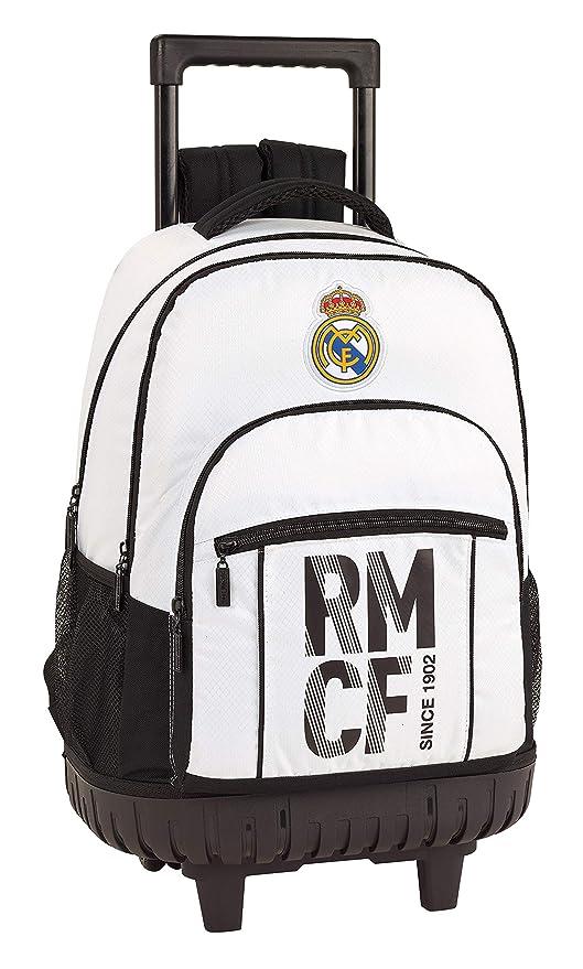 ec01c6f2982 Real Madrid CF Mochila Grande con Ruedas Carro Fijo