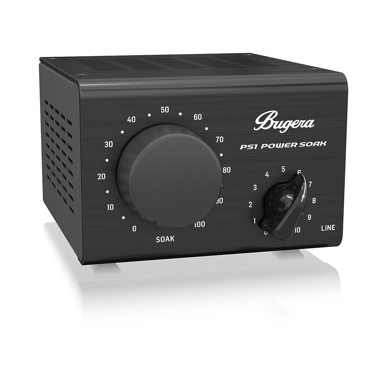 Bugera PS1 Power Soak pasivo atenuador para amplificadores de guitarra y bajo con micrófono modelo salida, Negro: Amazon.es: Instrumentos musicales