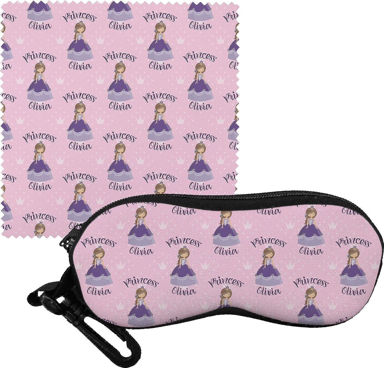 Custom Princess Eyeglass Case & Cloth (Personalized)
