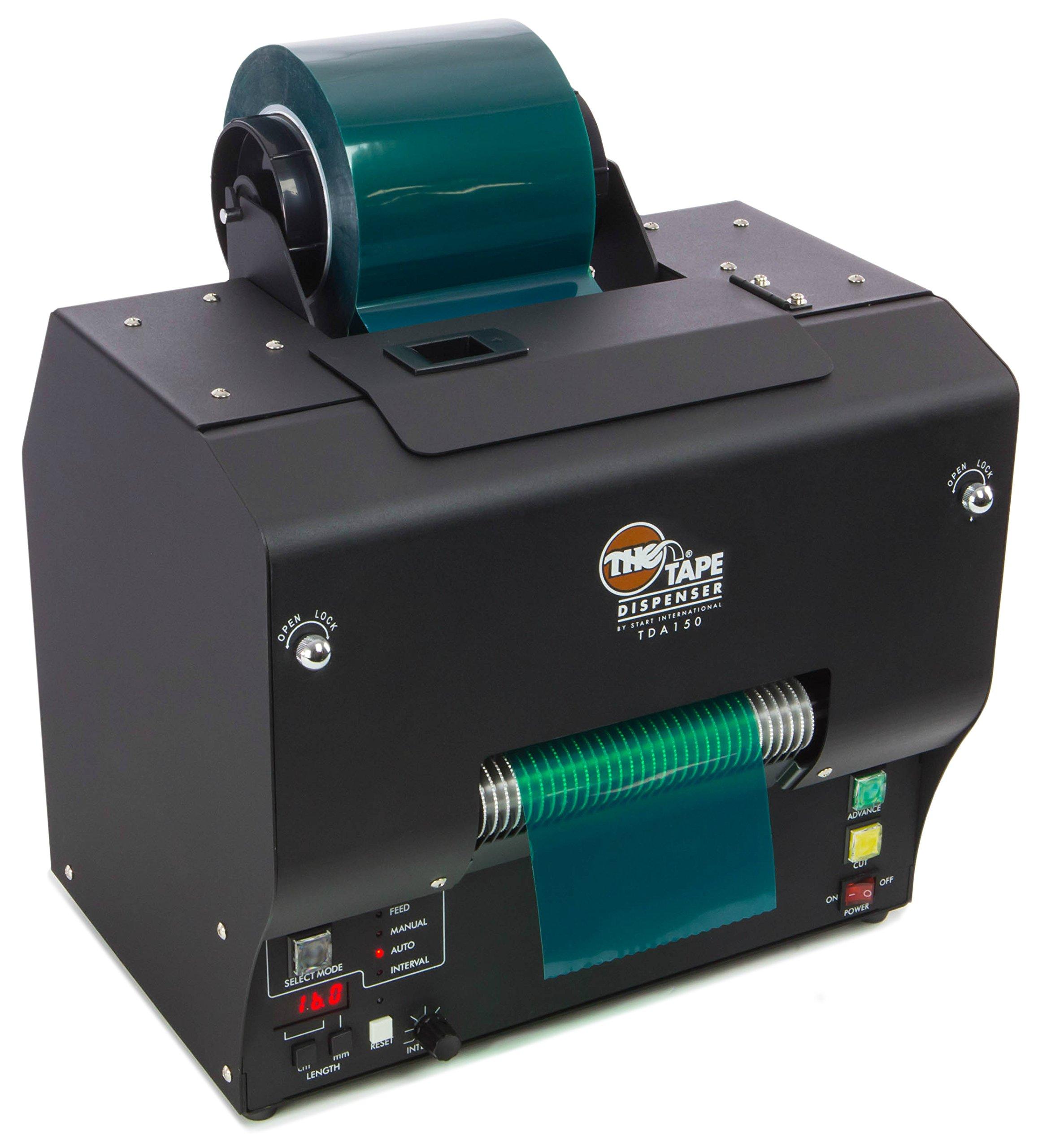 START International TDA150-M Electronic Heavy Duty Wide Tape Dispenser with Memory