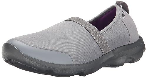 1cb5a42354b81b Crocs Women Duet Busy Day 2.0 Satya A-Line Low-Top Sneakers - Grey