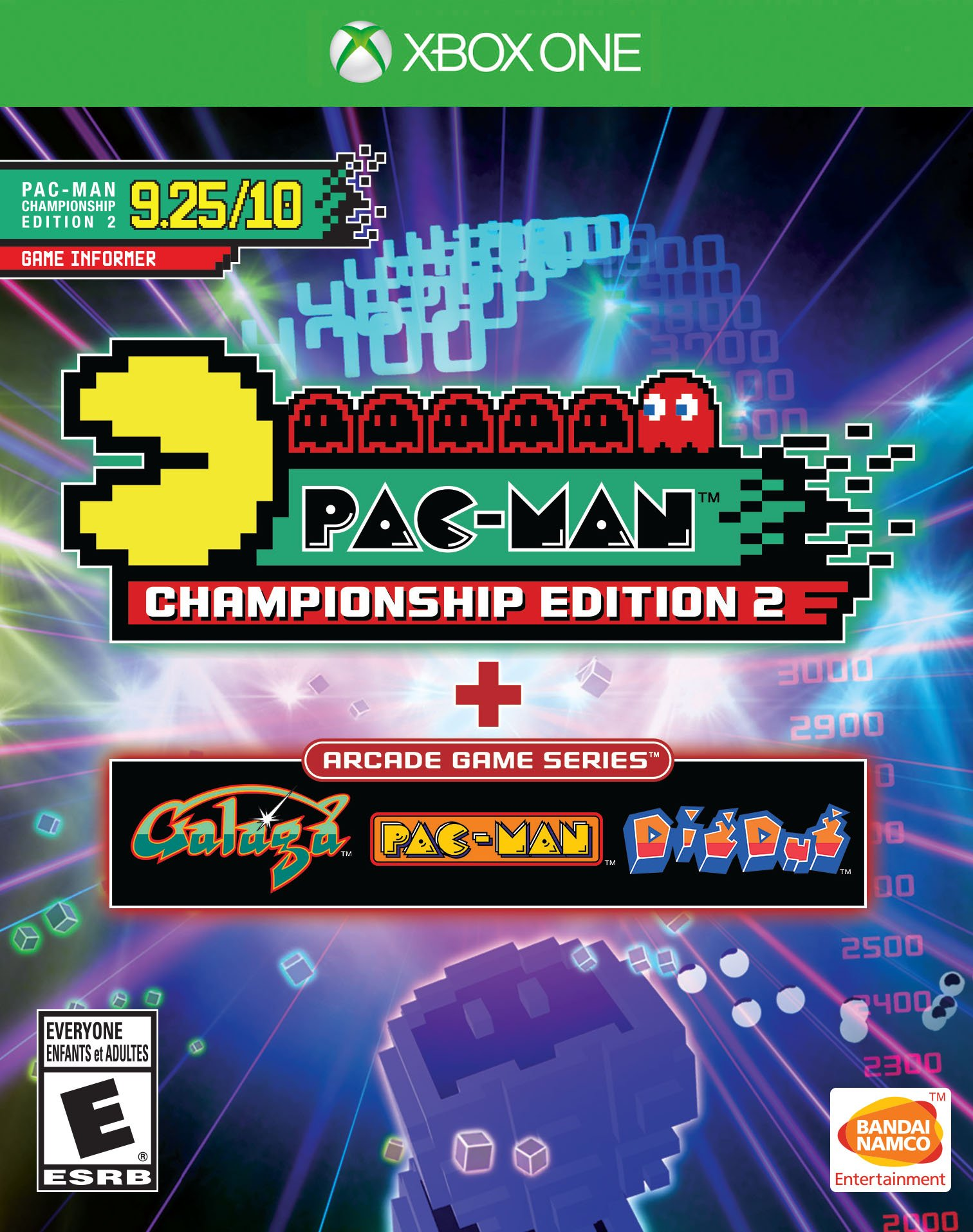 Ms. Pac-man (2016) xbox one box cover art mobygames.