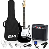"""LyxPro Electric Guitar 39"""" inch Complete Beginner Starter kit Full Size with 20w Amp, Package Includes All Accessories…"""