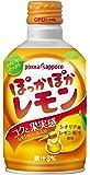 ポッカサッポロ フード&ビバレッジ ぽっかぽかレモン290mlボトル缶×24本