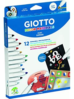 Giotto Decor Materials Schoolpack 48 Uds.: Amazon.es: Oficina y papelería