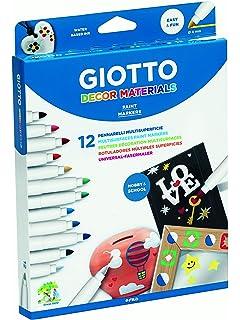 Giotto Decor Materials Schoolpack 48 Uds.: Amazon.es: Oficina y papelería