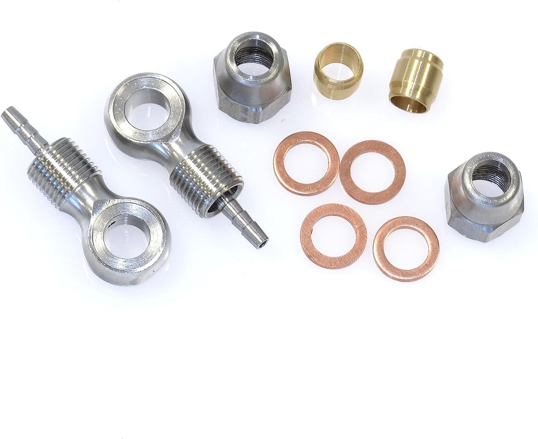 ALHONGA Kit reparacion latiguillo cable freno disco hidraulico  Hayes//Alhonga