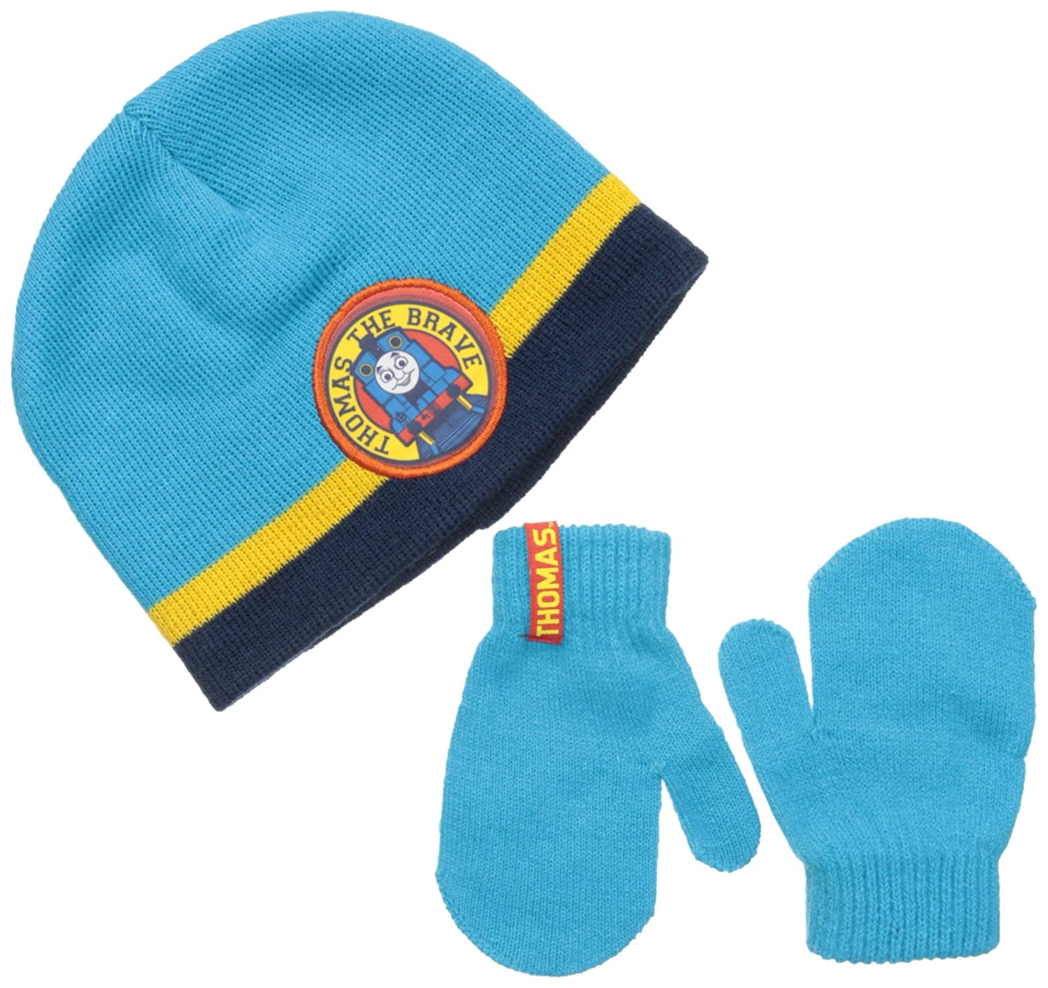 Berkshire Baby Boys\' Thomas The Engine Beanie and Mitten Set Multi One Size TH2141-I