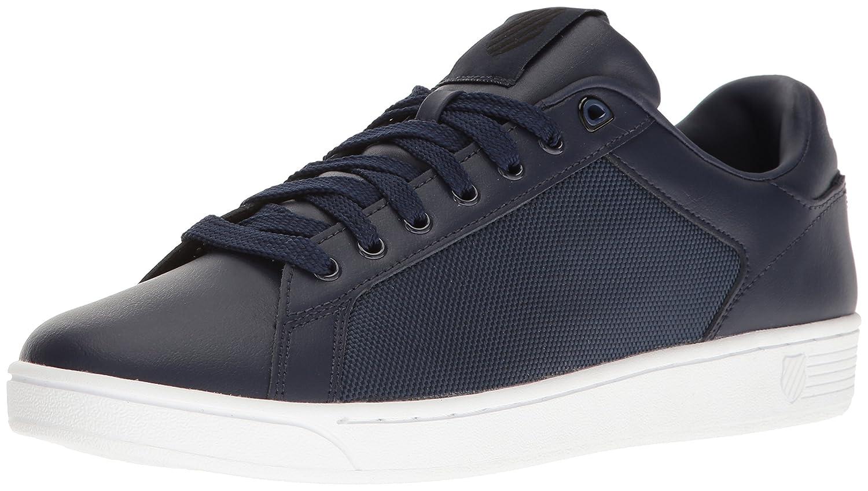 K Swiss Herren Clean Court CMF Sneakers Schwarz(navy/Black/White 445)