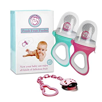 aa1d8df09 Baby s World-Baby Food Feeder Pacifier-Infant Teether