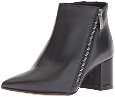 61e9802d5f07c Kenneth Cole New York Women's Hayes Diagonal Side Zip Ankle Bootie Boot