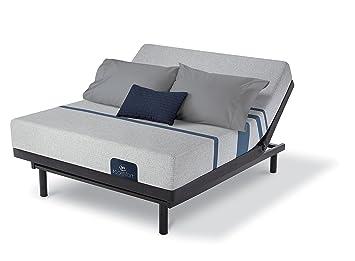 Amazon Com Serta Icomfort Blue 100 Twin Xl Adjustable Set Kitchen