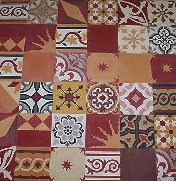Zementfliesen Patchwork 1m handmade encaustic tiles cement floor tiles patchwork