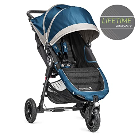 Baby Jogger 2014 City Mini GT Single Stroller, Teal Gray