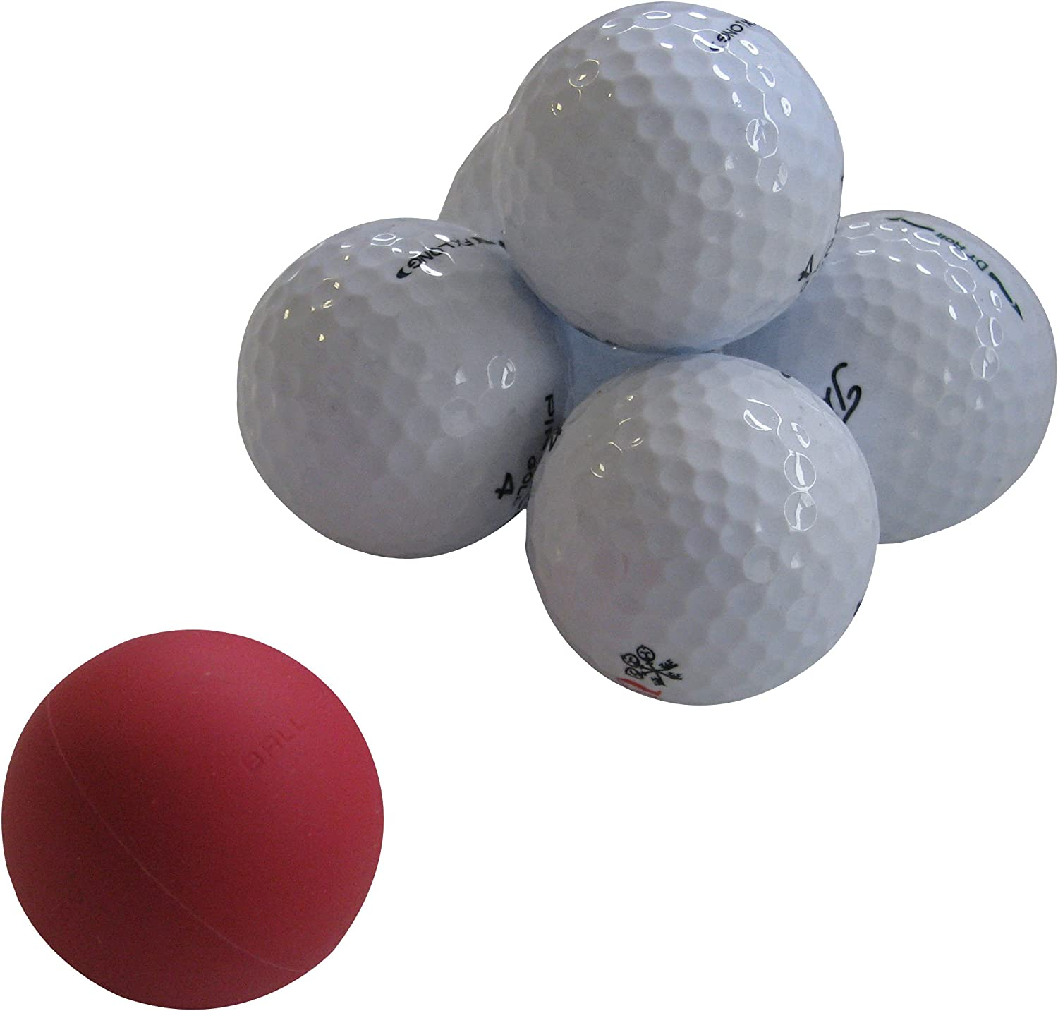 Eyeline Golf Weighted Ball Of Steel Putting Training Aid, 3-Pack