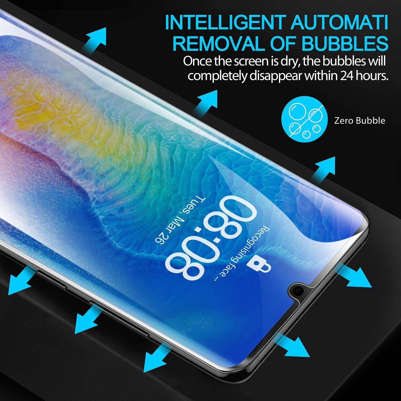 Klar TPU Weich Folie mit Vollst/ändige Abdeckung Schutzfolie Kompatibel mit Huawei P30 Pro Beikell 3 St/ück Blasenfrei gegen Kratzer f/ür Huawei P30 Pro Ultra-HD