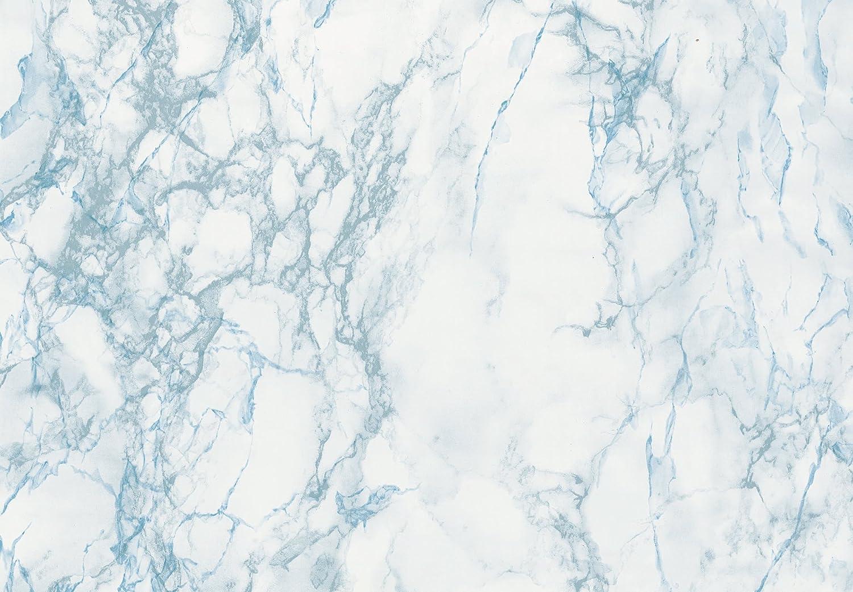 d-c-fix® Sticky Back Plastic (self adhesive vinyl film) Marble Cortes Blue 45cm x 2m 346-0121 Konrad Hornschuch AG