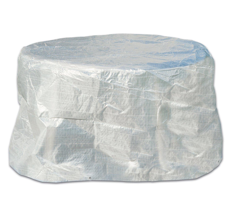 Amazon.de: Schutzhülle Abdeckung Hülle für Tisch oval 160cm transparent