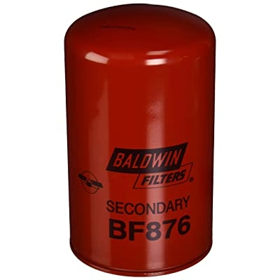 Baldwin BF876 Heavy Duty Diesel Fuel Spin-On Filter: Automotive