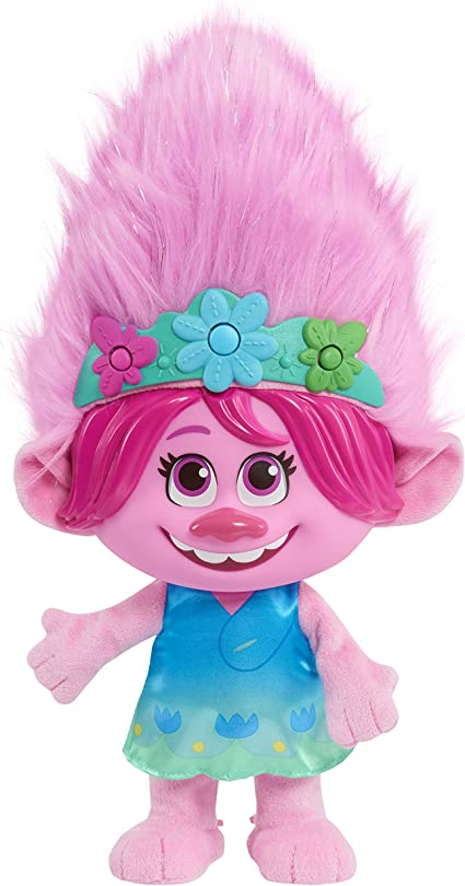 Amazon Com Trolls World Tour Color Poppin Poppy Toys Games