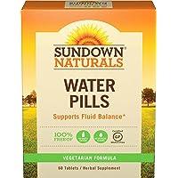 Sundown Naturals® Natural Herbal Water Pills, 60 Tablets (Pack Of 3)
