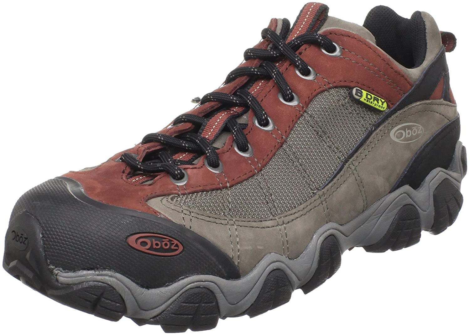Oboz Men's Firebrand II BDry Hiking Shoe,Earth,US 11.5 W B01F5YJ1QY 11.5|Earth