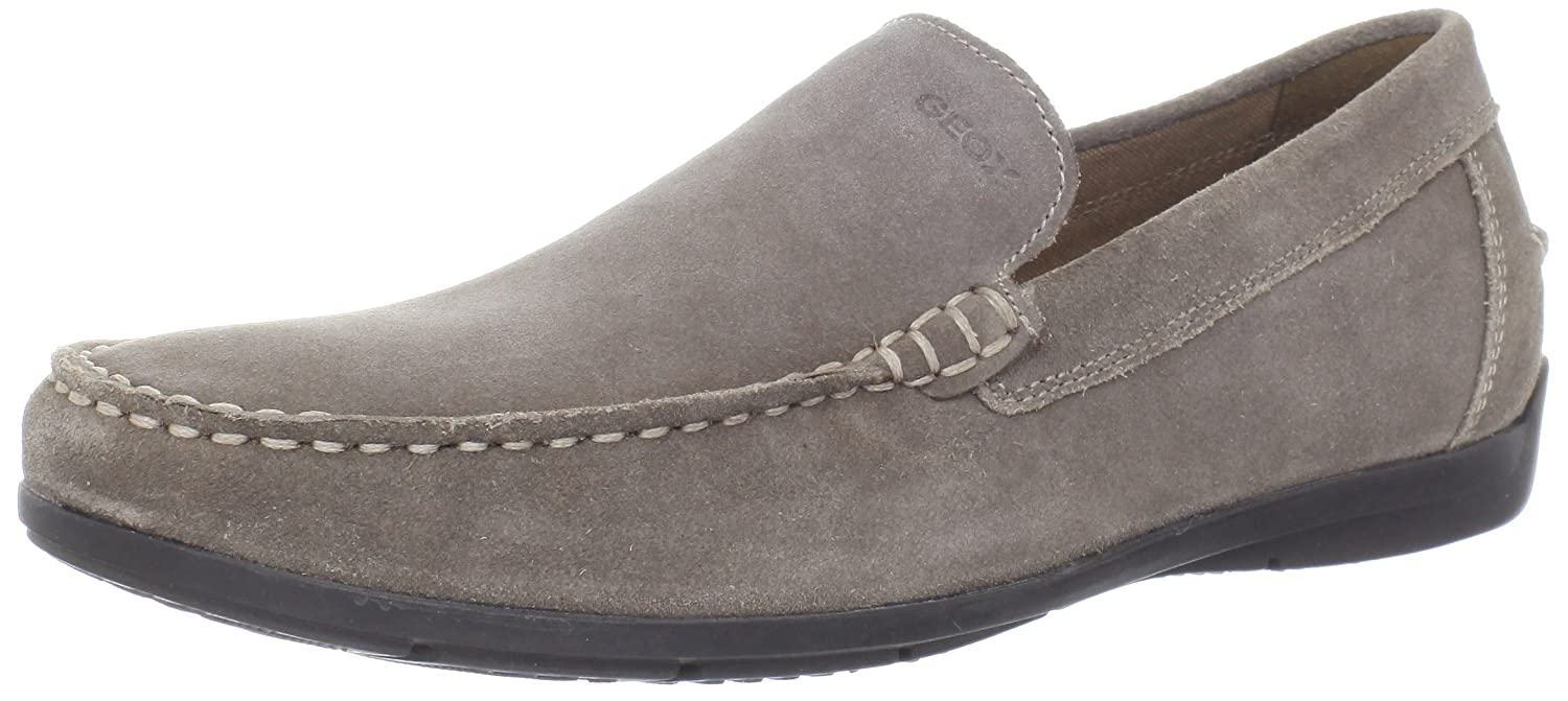 Geox Men's U Siron A Loafer Flats Beige TAUPEC6029 9.5 UK