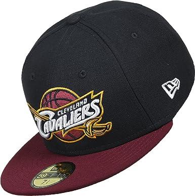 best service 81f3b bb344 New Era Men Caps Snapback Cap NBA Team Cleveland Cavaliers 59Fifty   Amazon.co.uk  Clothing