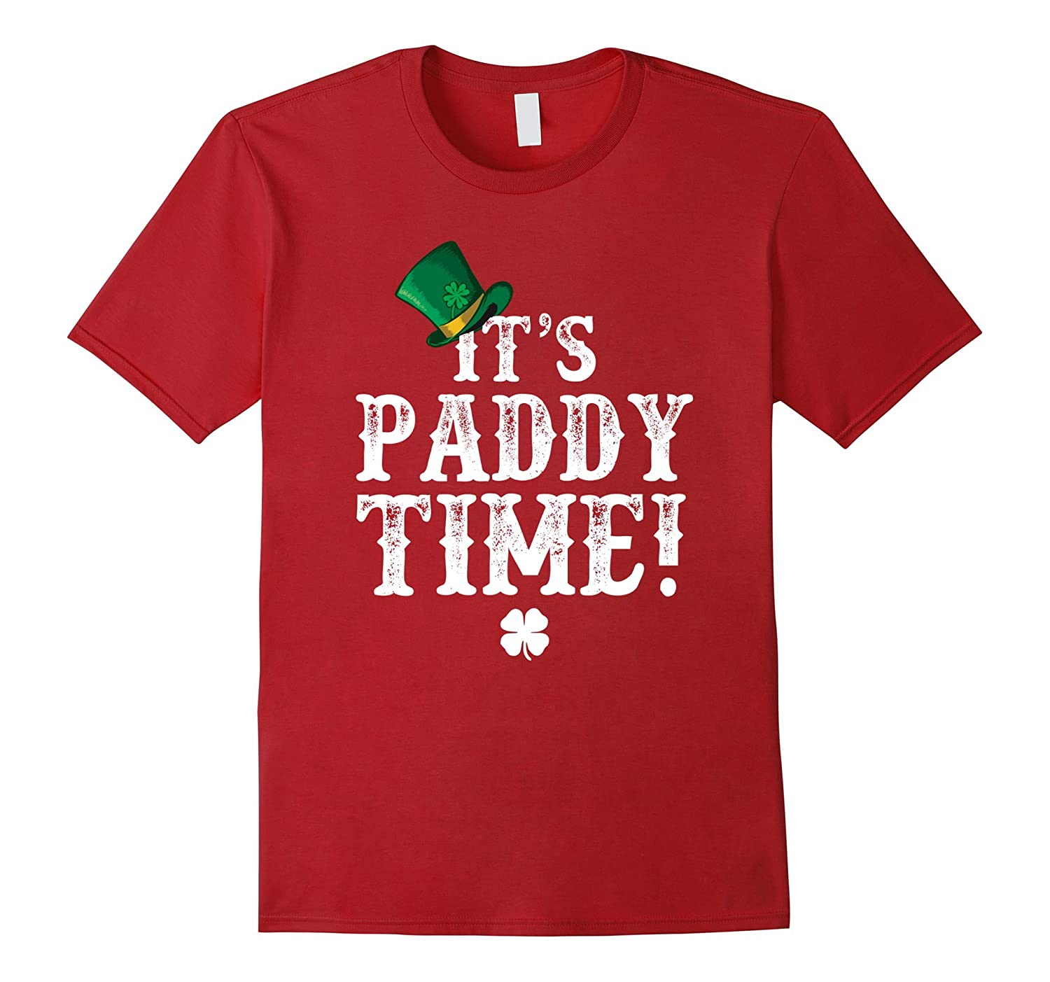 Its Paddy Time T-Shirt Time For Irish Beer T Shirt-TD