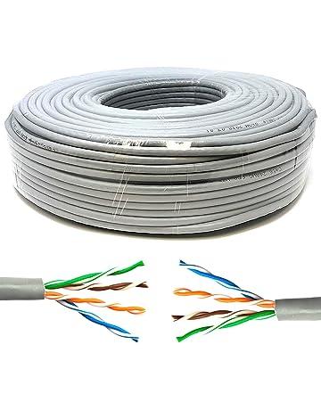 Mr. Tronic 50 Metros Cable de Instalación Red Ethernet Bobina 50m | CAT5e, AWG24