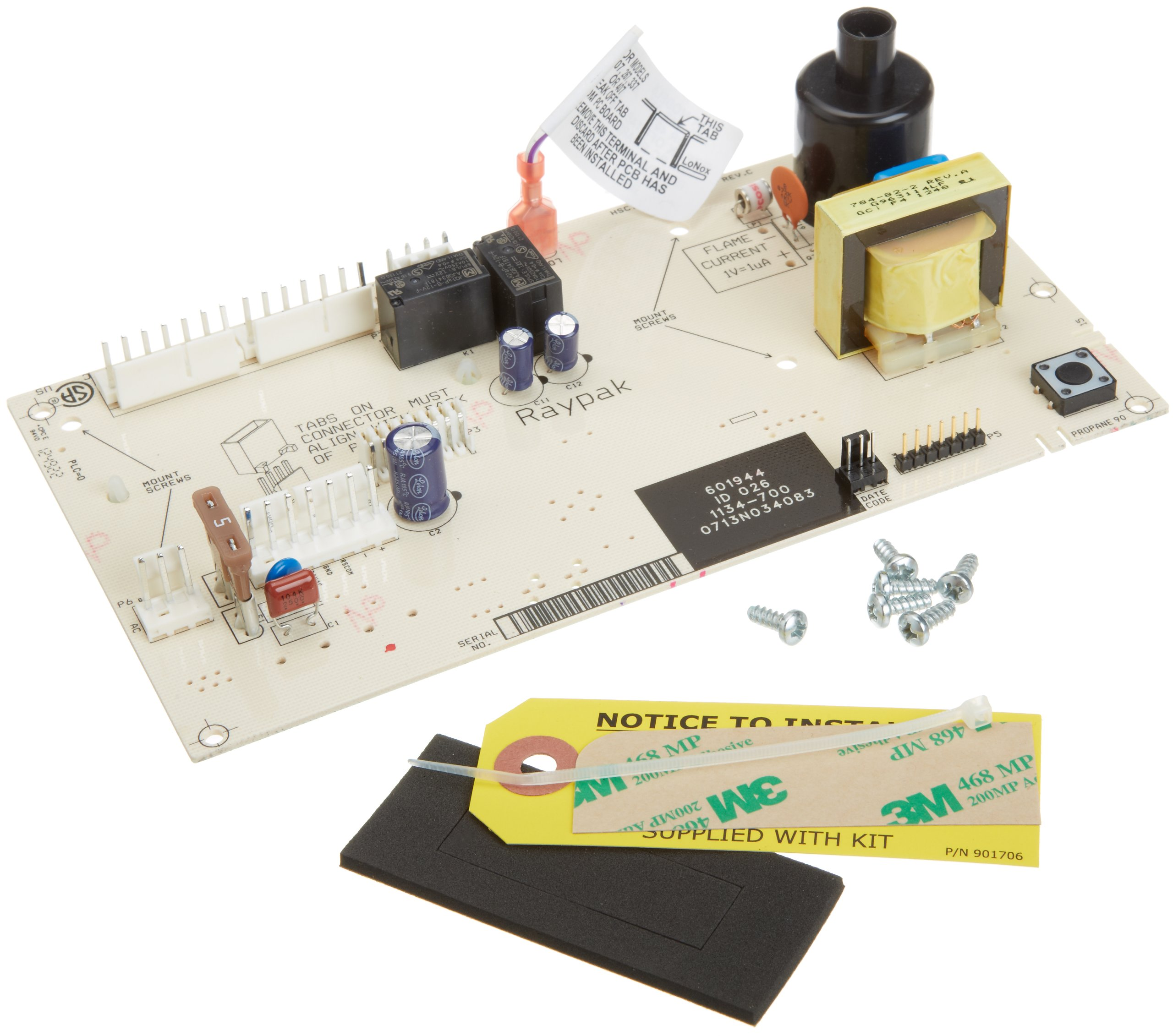 Raypak 013464F PC Board Control Replacement for Digital Gas Heater by Raypak