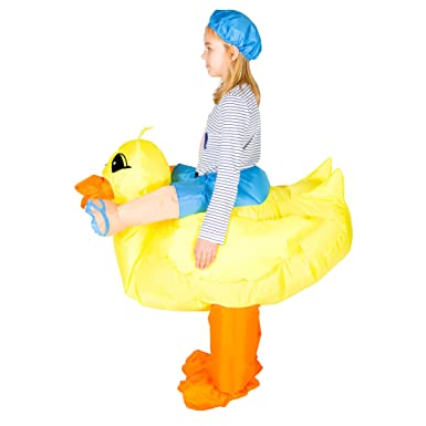 sc 1 st  Amazon.com & Amazon.com: Bodysocks Kids Inflatable Duck Fancy Dress Costume: Clothing