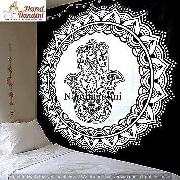 Indien Psychedelique Boho Coton Boheme Literie Decor Salon Decor A