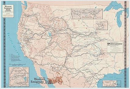 1830 Us Map.Amazon Com Historic Map United States West 1870 1993 1830 1870