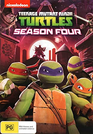 Amazon.com: Teenage Mutant Ninja Turtles: Season 4 | 4 Discs ...