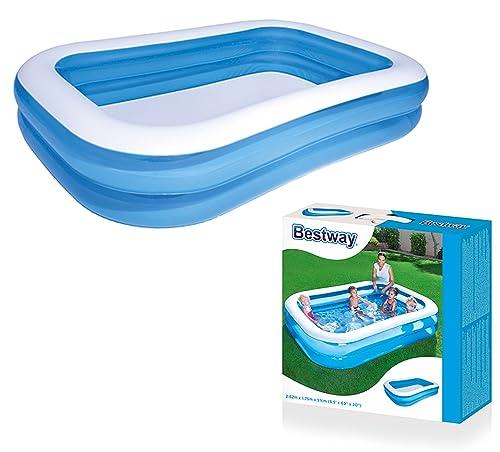 Intex swim centre family pool with seats 56475np 229 x - Intex swim center family lounge pool blue ...