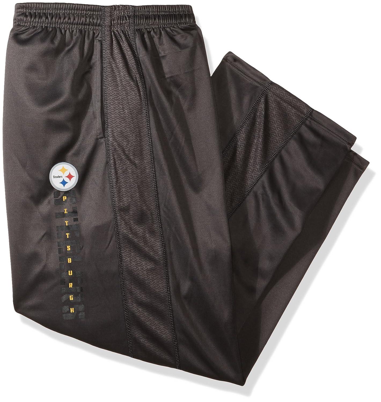 NFLメンズスティーラーズMatching Poly Pant 4X ストームグレー B0752XLPLV