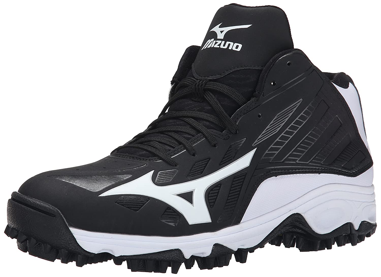 Mizuno Mens 9 Spike ADV Erupt 3 Multi-Sport Mid-Cut Softball Cleat