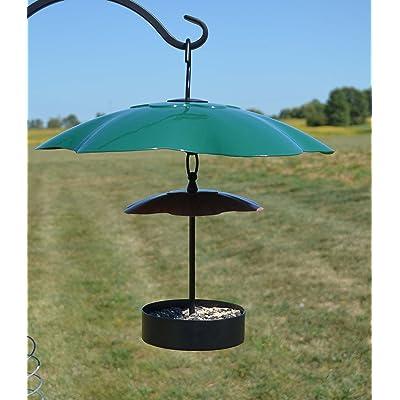 Songbird Essentials Green 16 inch Weather Block Baffle: Home & Kitchen
