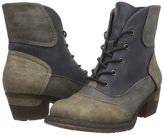 Rieker 93414 Damen Halbschaft Stiefel  Amazon.de  Schuhe   Handtaschen f8fa9e5b02