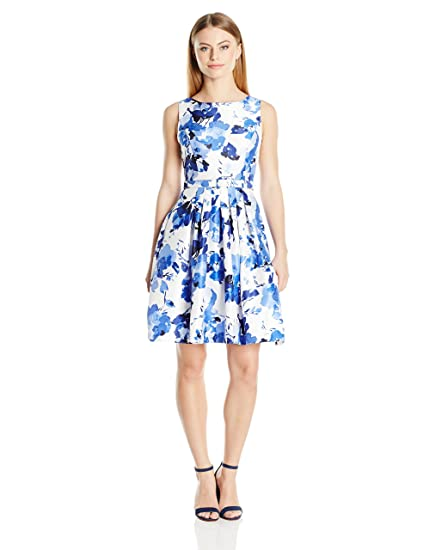 f9916388c0 Jessica Howard Women s Petite Belted Floral Dress