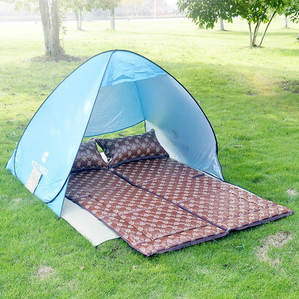 YZY Außenzelt + Schlafmatte Auto Falten Matratze Reisebett Camping Auto Bett Schlafen Bett Selbstfahrende Reise