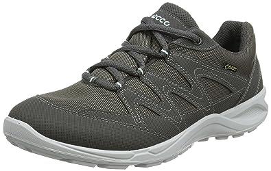 Ecco Terracruise Lt, Zapatos de Low Rise Senderismo para Mujer, Gris (Dark Shadow/Emerald), 38 EU Ecco